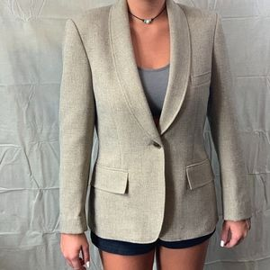 Anne Klein Women's Peak-Lapel Jacket